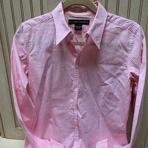 Ralph Lauren Womens 8 Blouse